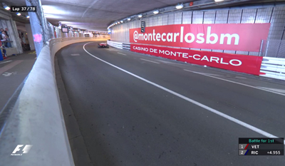GP Monaco Tunnel